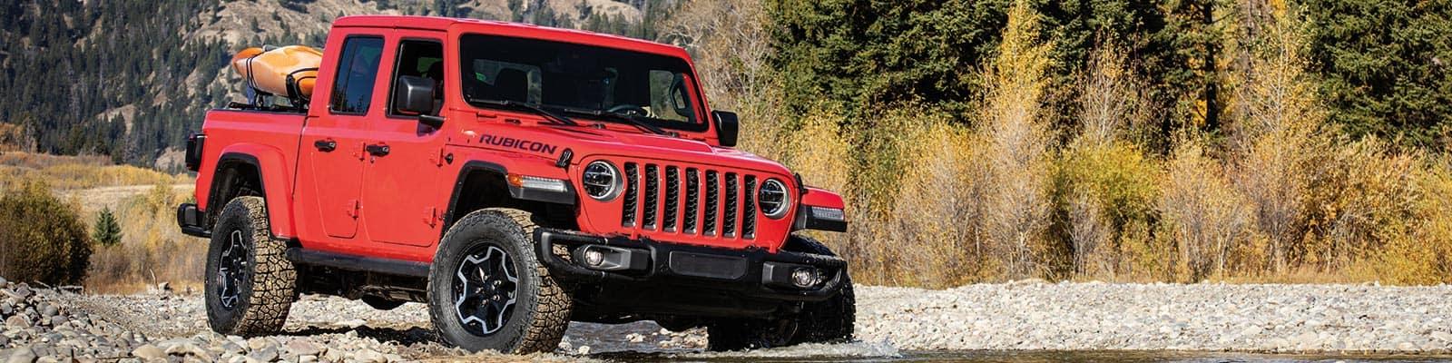 Jeep Gladiator Slide