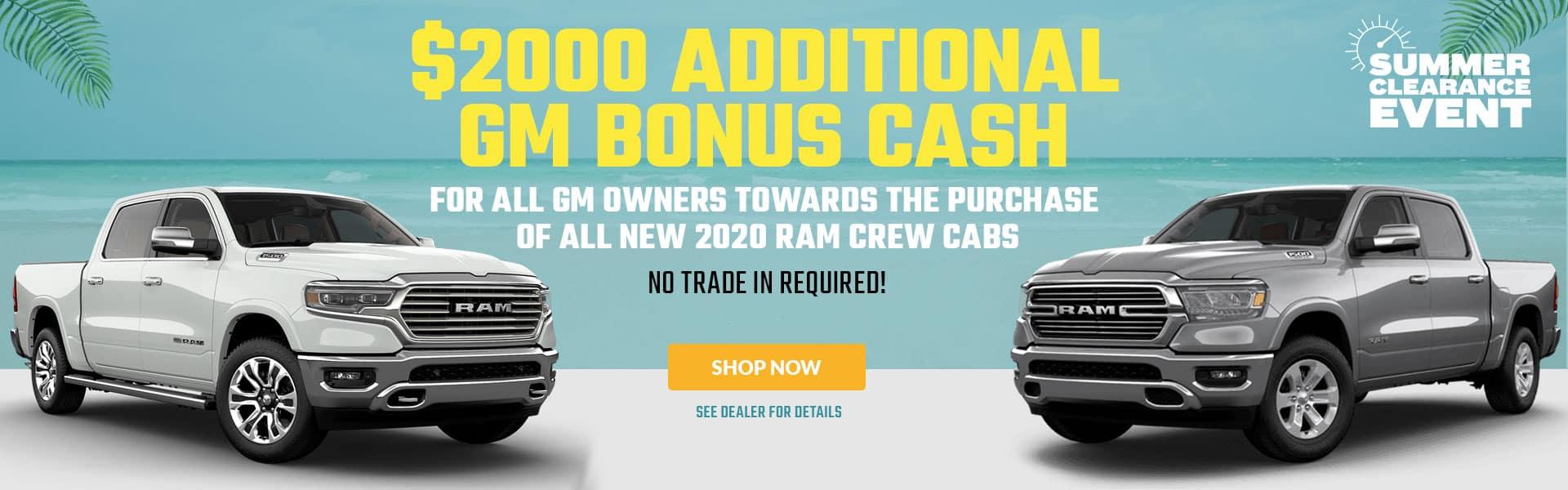 2020 RAM CREW CAB