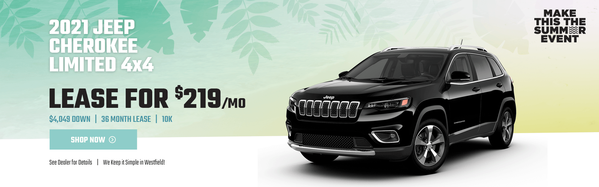 2021 JEEP CHEROKEE LIMITED JULY 21_2