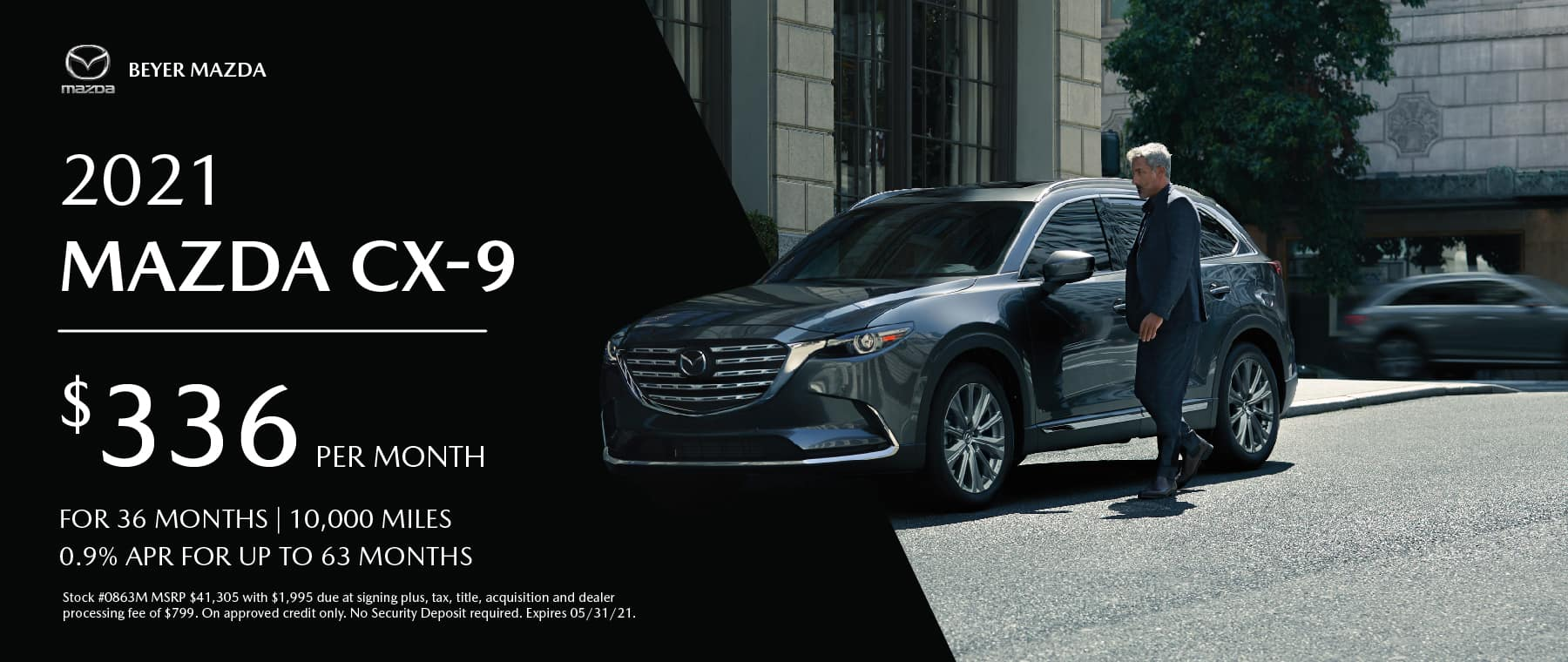 Beyer Mazda_May2021-Lease Special-CX9_Banner 1800×760