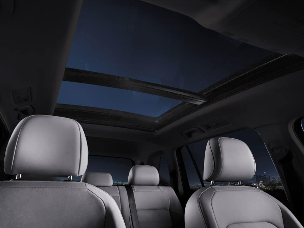 2020 Tiguan Sunroof