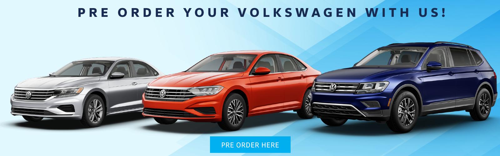 Pre-Order your Volkswagen