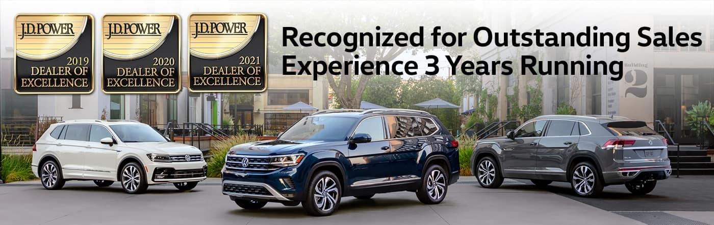 Bill Jacobs Volkswagen Dealer of Excellence