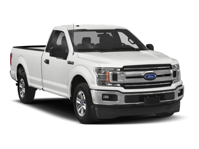 2018 Ford F-150 facing right