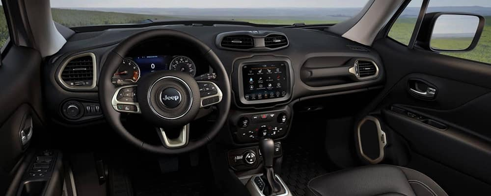 2018 Jeep Renegade Interior dashboard