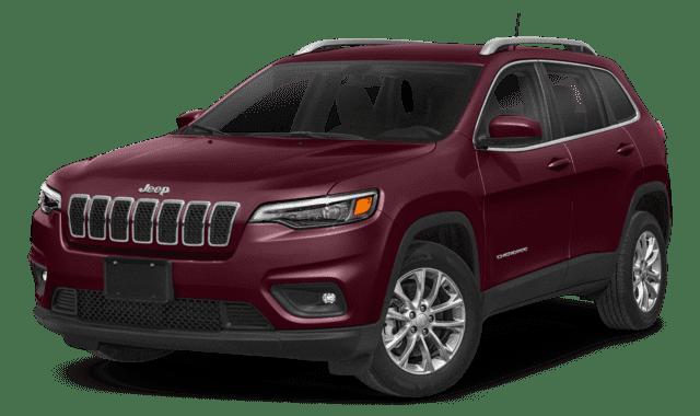 Maroon 2019 Jeep Cherokee