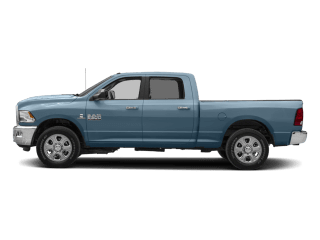 4 2018 Ram 2500 Sideview