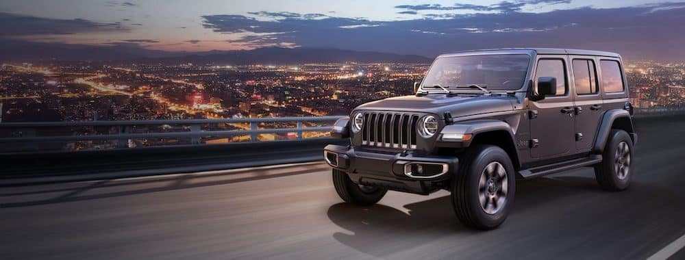 Gray 2019 Jeep Wrangler