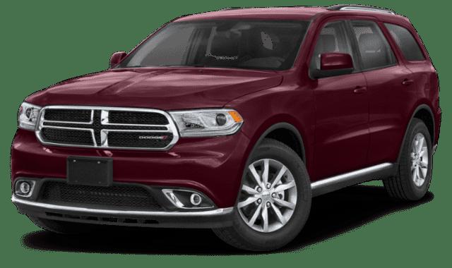 Maroon 2019 Dodge Durango Sideface