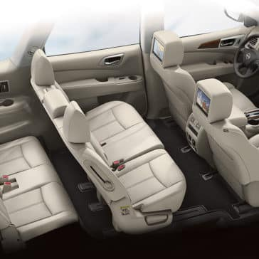 2018 Nissan Pathfinder interior seating