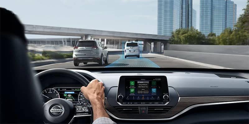 2019 Nissan Altima Driving Using Safety Features