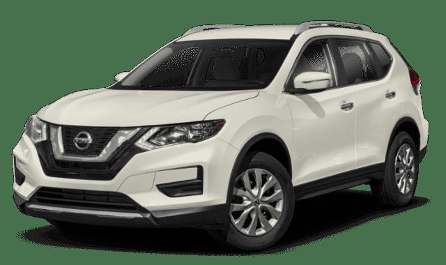 White Nissan Rogue