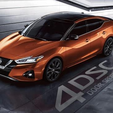 2020 Nissan Maxima Parked