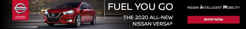 2020 Nissan Versa - Fuel You Go