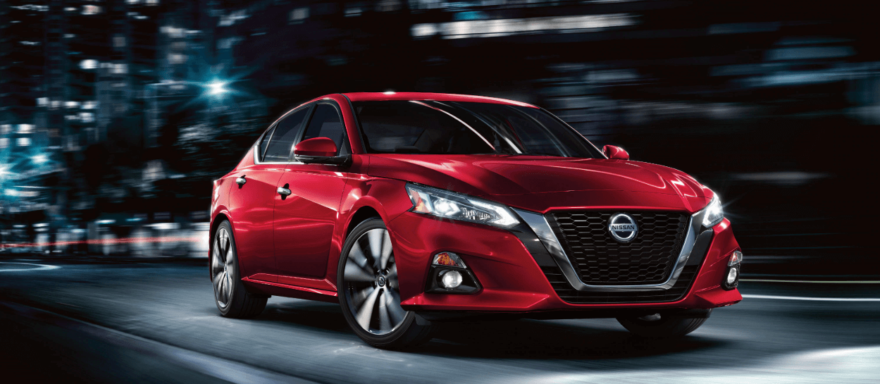 2020 Nissan Altima S in red paint