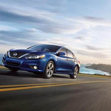 2018 Nissan Altima exterior deep pearl blue original
