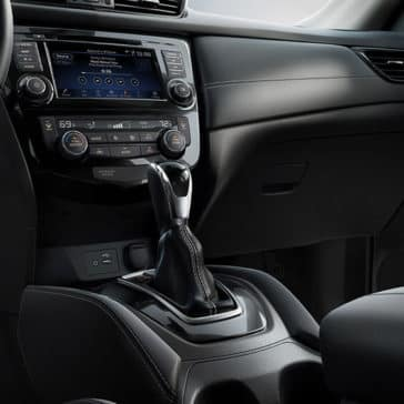2018 Nissan Rogue SL front interior charcoal leather original