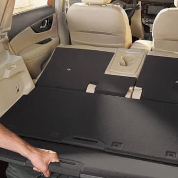 2018 Nissan Rogue SL hidden trunk compartment original