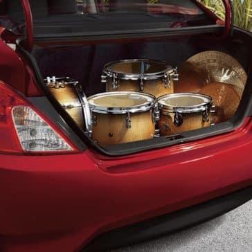 2018 Nissan Versa trunk