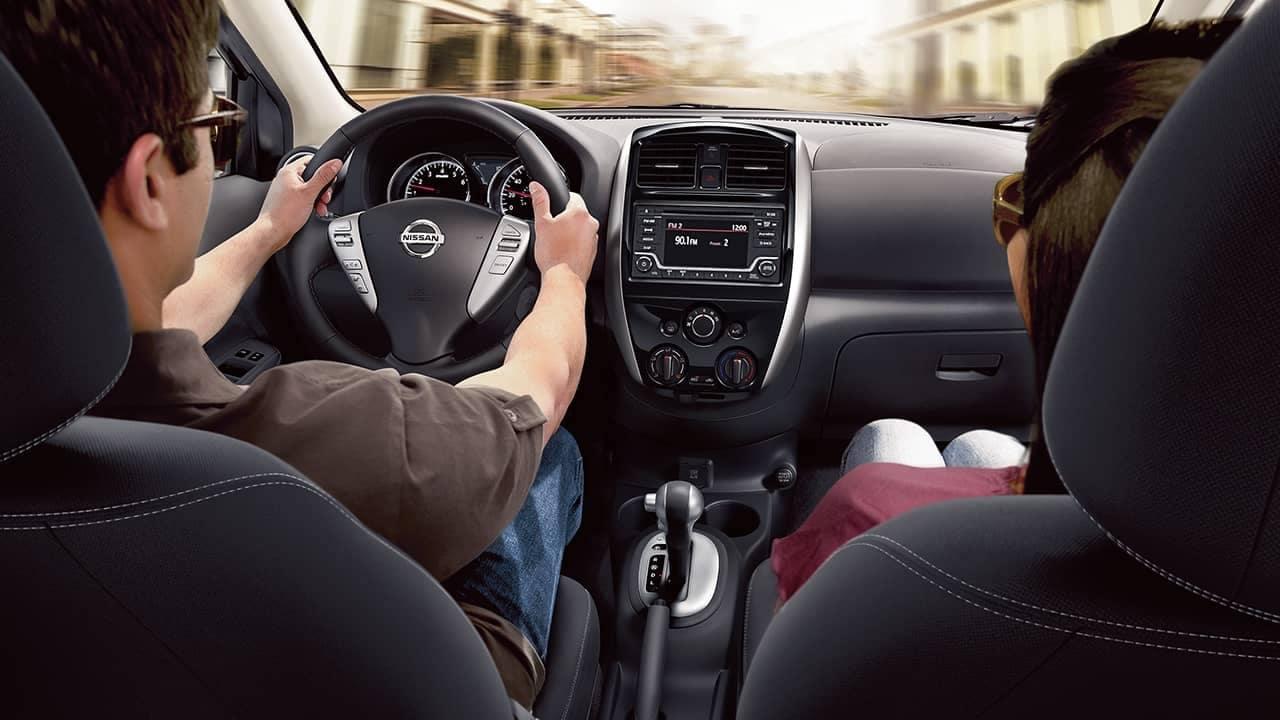 2018 Nissan Versa front seats