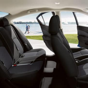 2018 Nissan Versa Interior seats