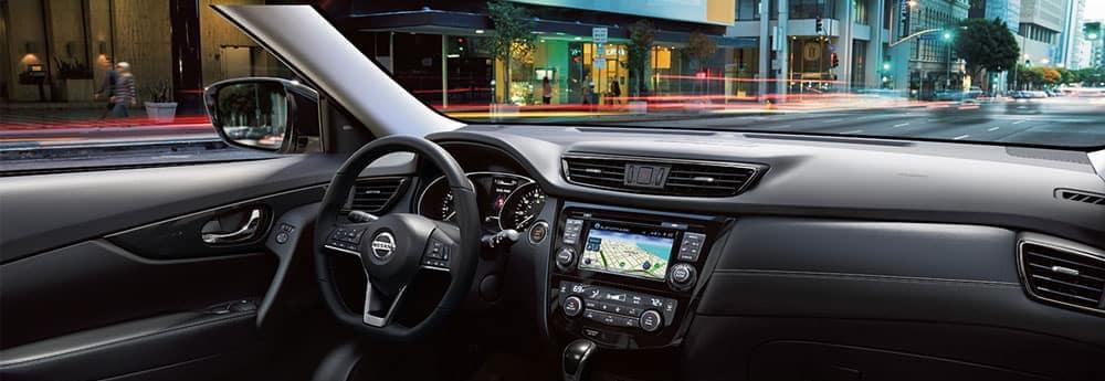 Nissan Rogue dashboard