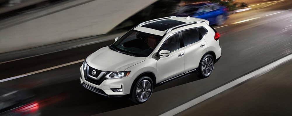 2018 Nissan Rogue Sl Platinum Reserve Pearl White