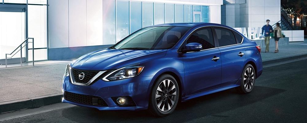 Blue 2019 Nissan Sentra banner