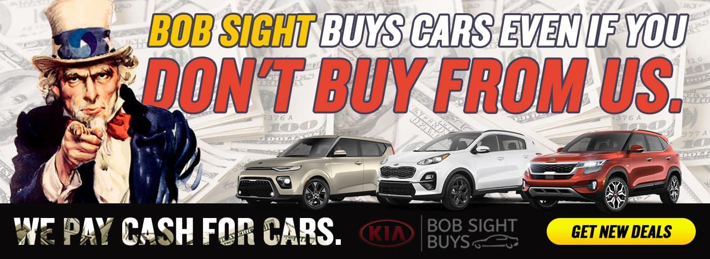 _Bob Sight Buys Cars Homepage