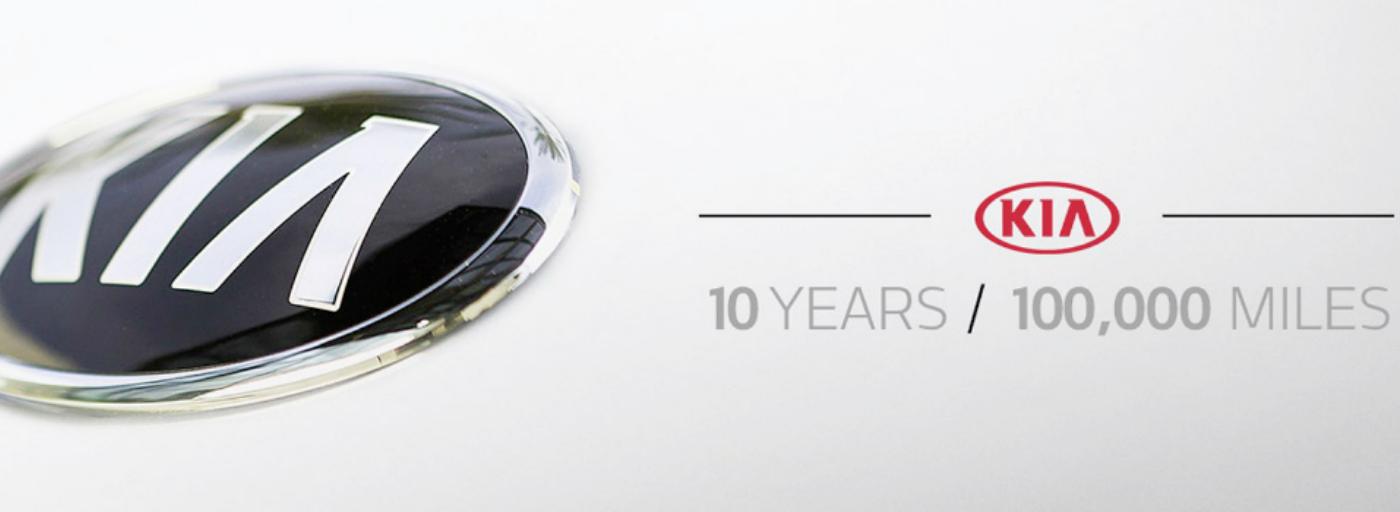 KIA 10 Year Warranty