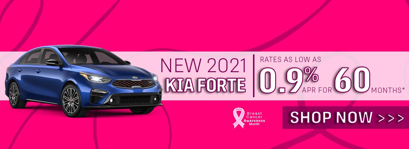 Bob Sight Kia New 2021 Kia Forte .9% APR for 60 Months