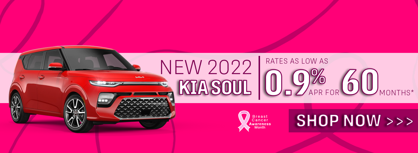 New 2022 Kia Soul .9% APR for 60 Months