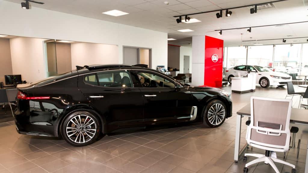Car Full Shot Redesigned Showroom