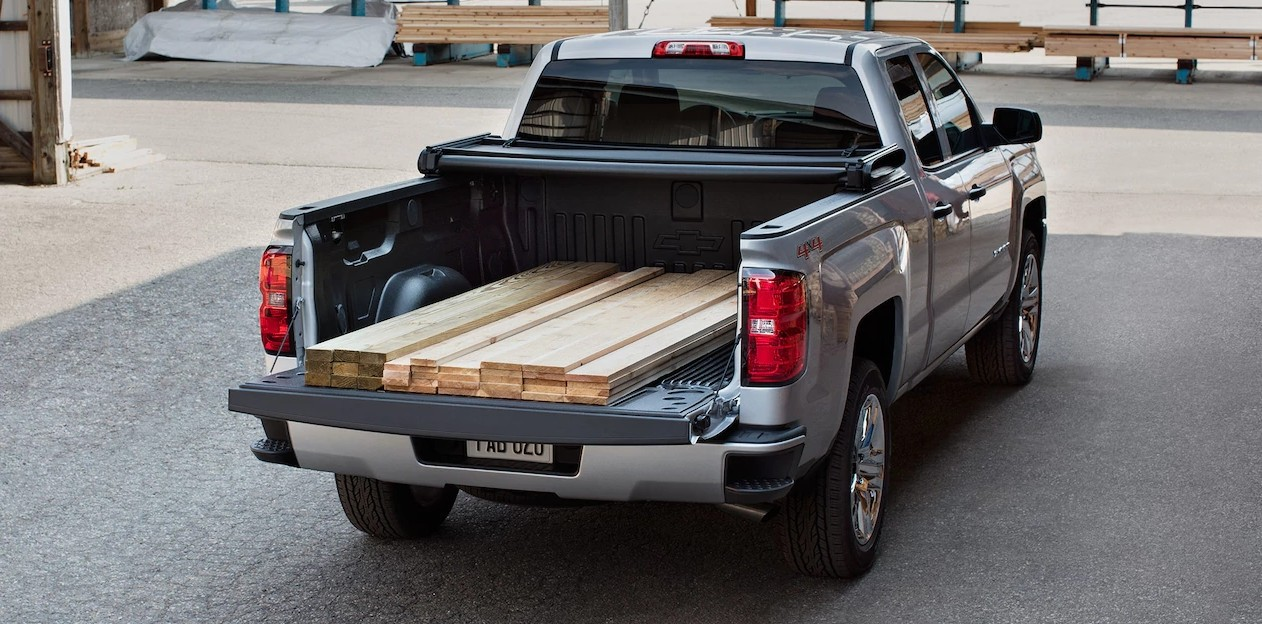 2017 Chevrolet Silverado Bed Space