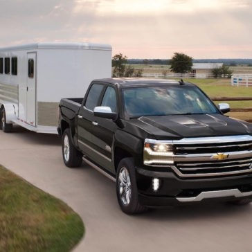 2017 Chevrolet Silverado towing