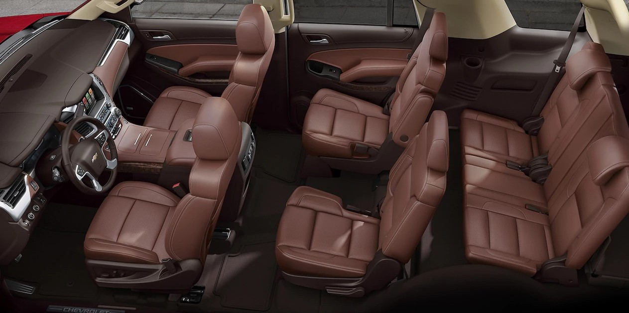 2017 Chevrolet Tahoe interior