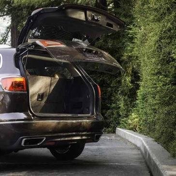 2017 Buick Enclave cargo