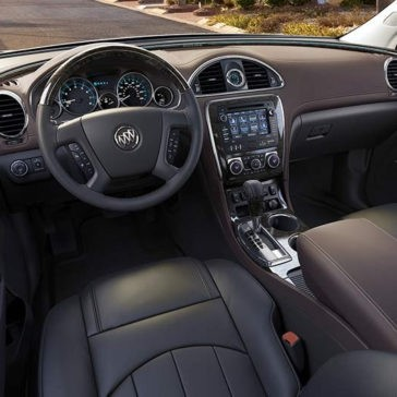 2017 Buick Enclave front interior
