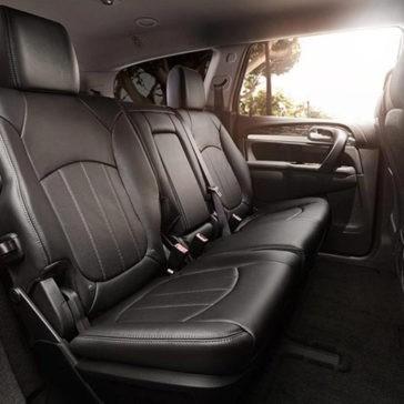 2017 Buick Enclave interior