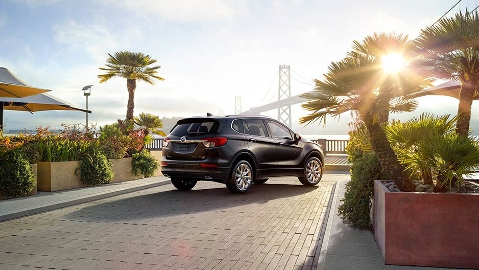 2017 Buick Envision parked