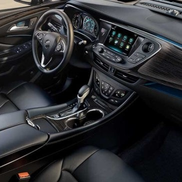 2017 Buick Envision front interior
