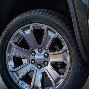 Denali Tires Up Close