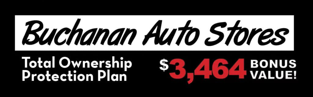 Total Ownership Protection Plan $3,464 Bonus Value<