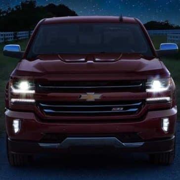 2018 Chevrolet Silverado 1500 headlights