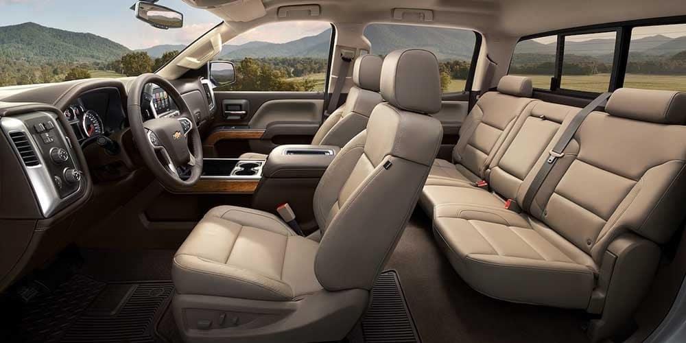 2018 Chevrolet Silverado 1500 seating