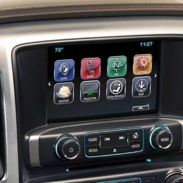 2018 Chevrolet Silverado 1500 technology features