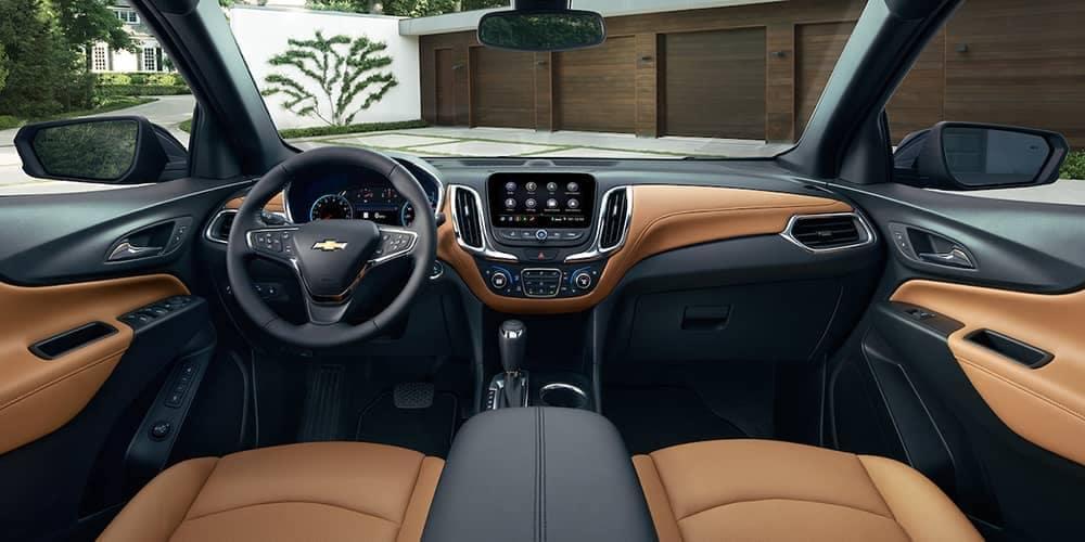 2019 Chevrolet Equinox front interior