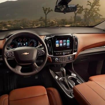 2019 Chevrolet Traverse front interior