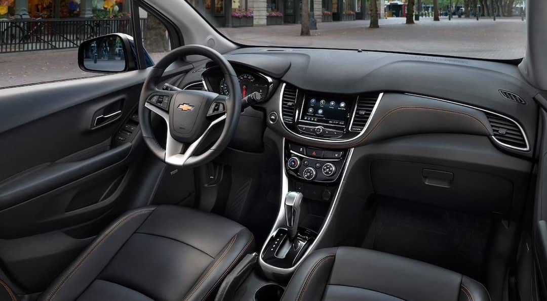 2019 Chevrolet Trax front interior