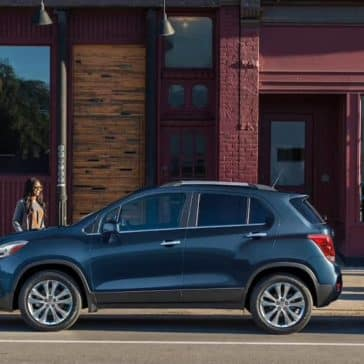 2019 Chevrolet Trax side view